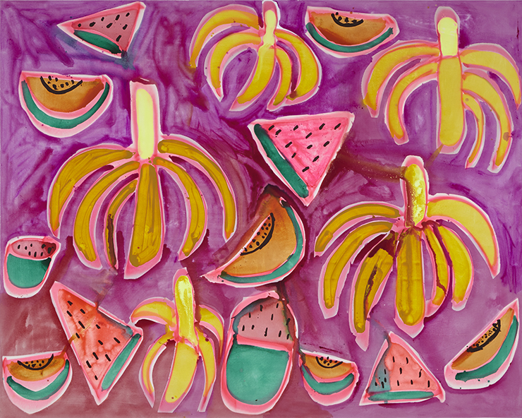 cultured-magazine-katherine-bernhardt-venus-over-manhattan-pablo-efrain-jungle-snack-2015